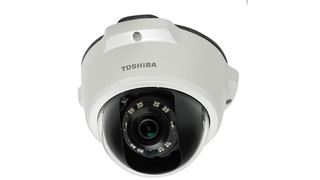 Toshiba's IK-WR05A and IK-WD05A HD IP Mini-Dome Cameras