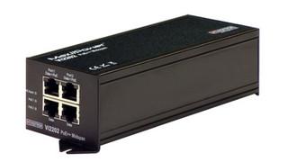 Vi2202, 2-port 60W PoE Midspan