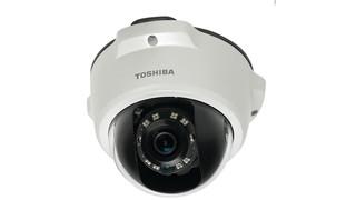 Toshiba's IK-WR05A and IK-WD05A HD IP Mini-Dome Cameras