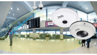 Vivotek's SF8174 and SF8174V Fisheye Fixed Dome Network Cameras