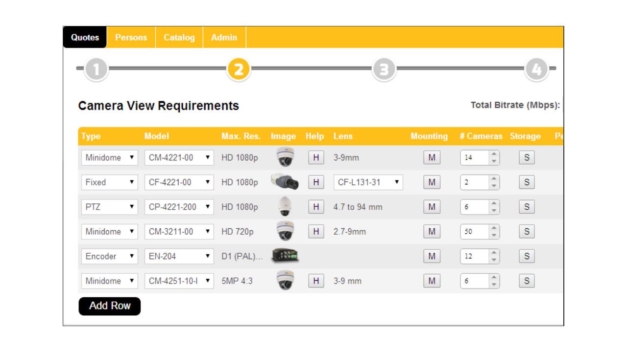 Dvtel online design tool Online design tool