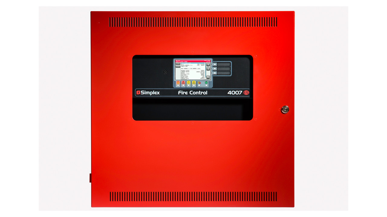 Simplexgrinnell S 4007es Fire Alarm Panel