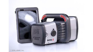 AS&E's MINI Z Handheld Z Backscatter Imaging System