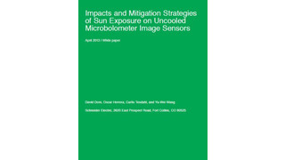Impacts and Mitigation Strategies of Sun Exposure on Uncooled Microbolometer Image Sensors