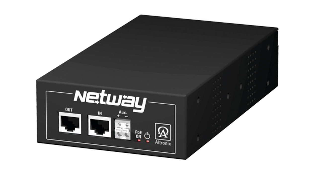 Altronixs Netway 1d And 1dwp Midspans With Hi Poe Midspan Injector A Powered Device Looks Something Like This