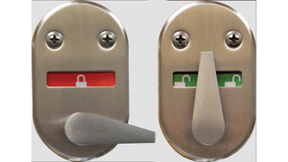 40H Visual Indicator Thumb-Turn Option for Mortise Locks