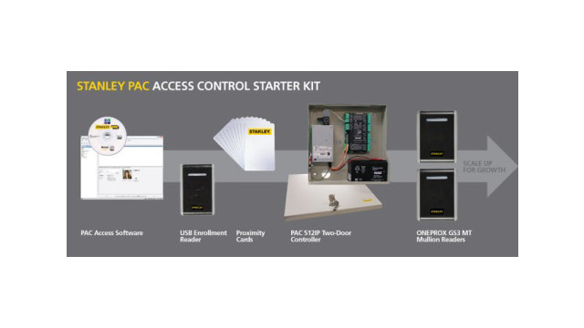 Stanley Security's PAC Access Software