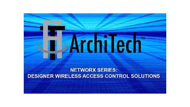 Video: Alarm Lock ArchiTech: Designer Access Control