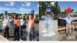 Tri-Ed's senior management team accepts the 'Ice Bucket Challenge'