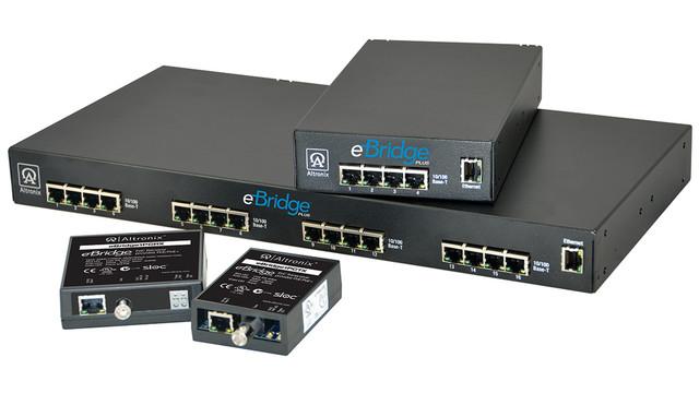 eBridge Ethernet over Coax/PoE Adapters