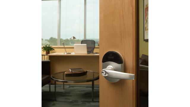 Schlage NDE Series locks with ENGAGE Technology