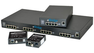 eBridge Ethernet over Coax/PoE Adapters
