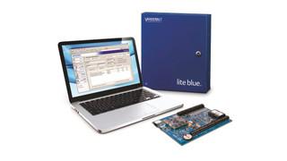 Vanderbilt Industries' lite blue 2-door Web-Based Access Control System