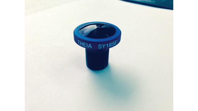 20 megapixel fisheye lens