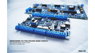 Pacom's 8003 Pacom-Edge Intelligent Security Controller