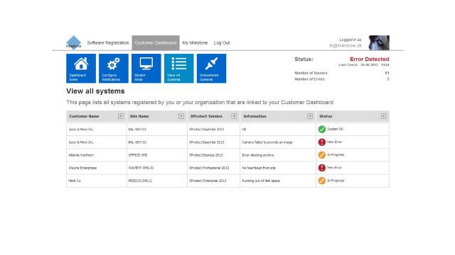 Milestone Systems enhances online customer service tool