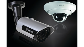 Bosch's 960H Microdome and Bullet Cameras