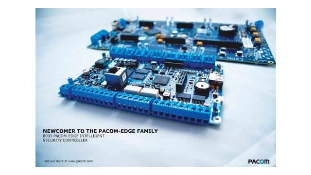 Pacom's 8003 Pacom-Edge Intelligent Security Controller