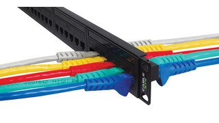 Feed-through patch panels