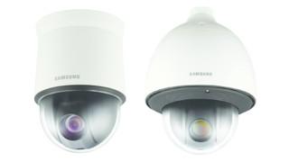 Samsung's SNP-6320/6320H 2-Megapixel PTZ Dome Cameras