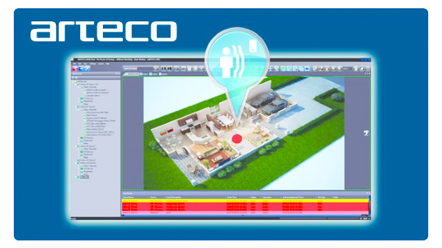 Arteco-Logic NEXT Intrusion Detection Plugin