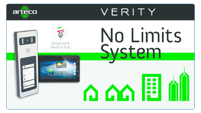 Arteco's VERITY IP Video Door Station