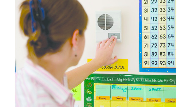 Audio intercoms provide cost-efficient security layer for schools