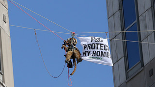 Greenpeace activists take plea deal in P&G protest